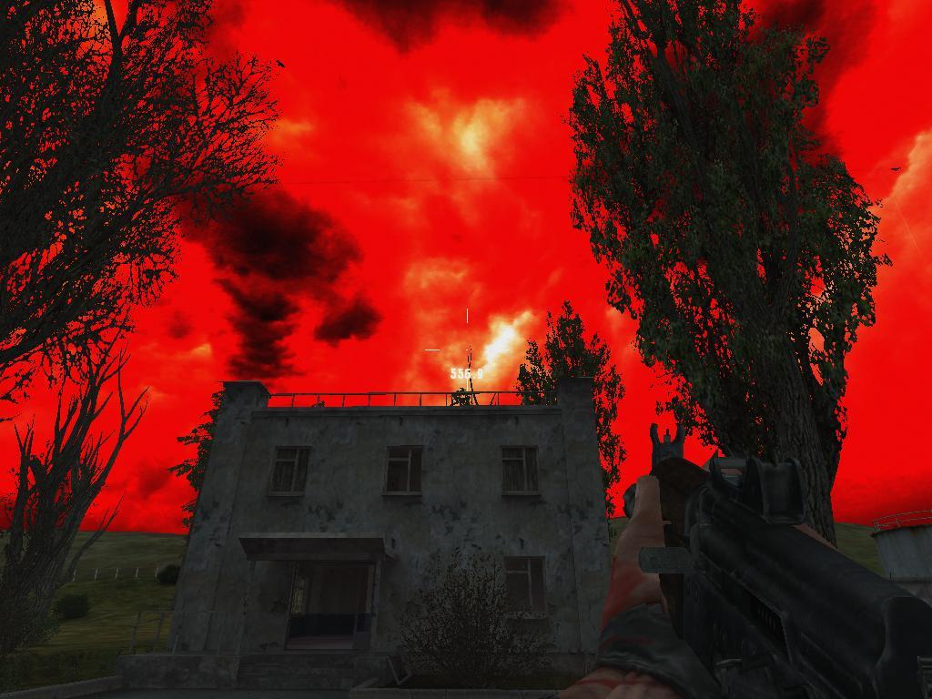 Мод на Оружие в Сталкер Тень Чернобыля